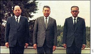Ieng Sary, Pol Pot, Son Sen
