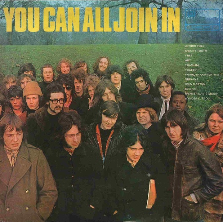 The cover of 'You Can All Join In'