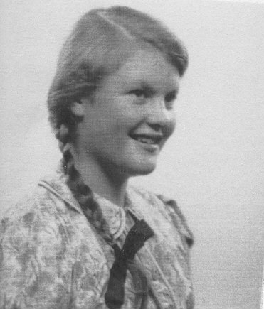 Rosemary as a young girl