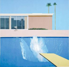 Hockney's iconic painting